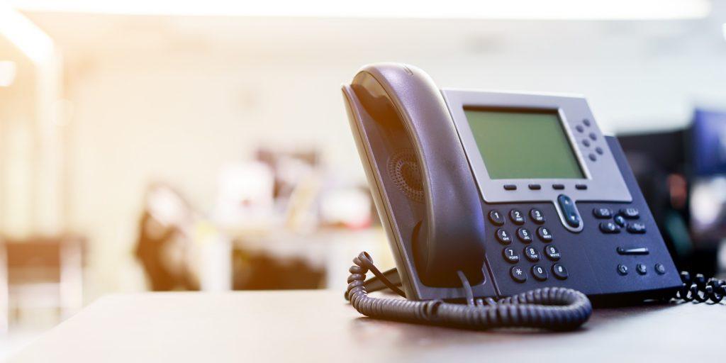 受付におしゃれな受付電話機を設置するメリットとは?