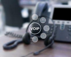 IP電話関連機器を設置すればビジネスフォンがIP電話に!